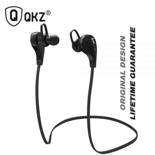 Bluetooth Headphones QKZ G6 Wireless Stereo Earphones Fashion Sport Running Studio Music Headsets with Microphone fone de ouvido