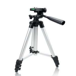 Free Shipping + Universal Tripod 4 Sections Lightweight Tripod Portable Tripod For Gopro Fuji Canon Sony Nikon Camera With Bag
