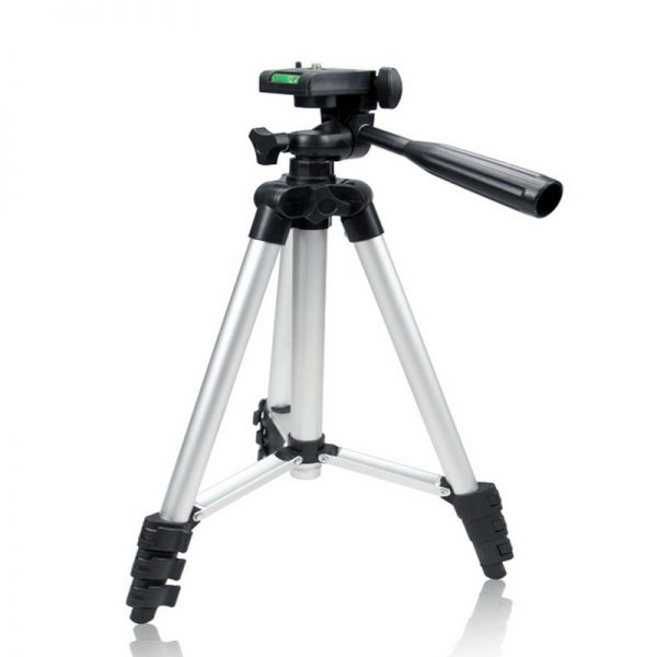 Free Shipping + Universal Tripod 4 Sections Lightweight Tripod Portable Tripod For Gopro Fuji Canon Sony Nikon Camera With Bag