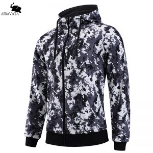 New Arrivals Mens Hoodies and Sweatshirts Zipper Hooded Sweatshirts Male Clothing Fashion Military Hoody For Men Printed Hoodies