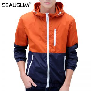 SEAUSLIM Summer Men Women Hooded Sun Protective Thin Jacket Men Summer Style Jacket Sun Protect Beach Thin Clothing Q-WZZS-03