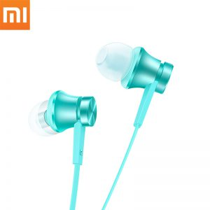 Xiaomi Piston Earphone Basic Version In-ear Earbuds Wired Earphones With Mic Stereo Auriculares Mi Fone De Ouvido For Phones