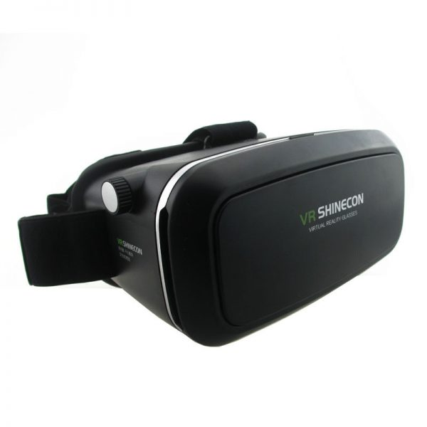 VR Shinecon VR Virtual Reality Real 3D Glasses Helmet Cardboard Mobile 3D Movie Cinema for iPhone Samsung 4.0 -6 inch Smartphone