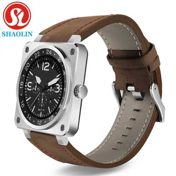 SHAOLIN Fashion Smart Watch Wearable Devices Bracelet Bluetooth Smartwatch for Huawei Xiaomi Apple Smartphone Android OS