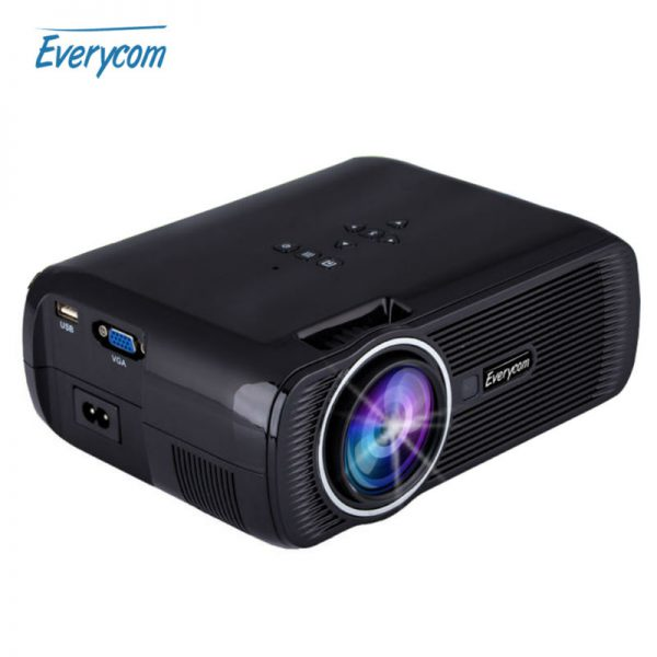 Everycom X7A / X7s plus Miracast Airplay X7 Wifi Mini Video Projector led ATV Beamer 1800 lumens portable lcd Home Theater HDMI
