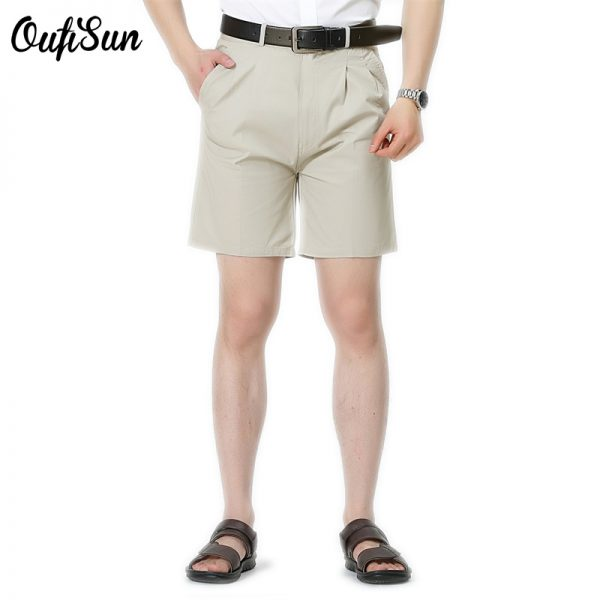 Mens Shorts Summer Fashion Casual 100% Cotton Short Pants Brand Clothing Size 30-42 low price promotion Free Shipping Sun 1701