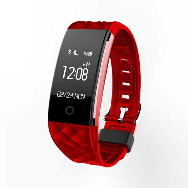 Chycet Original S2 Bluetooth Smart Band Wristband Heart Rate Monitor IP67 Waterproof Smartband Bracelet For Android IOS Phone