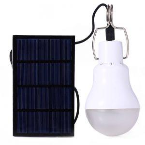 LumiParty Hot 15w Solar Powered Led Bulb Lamp Solar Energy Camping lamp led lighting solar panel light Solar Camping Light