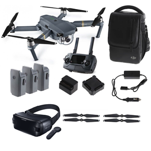 DJI Mavic Pro Fly More Combo + FREE Samsung Gear VR w/ Controller BRAND NEW