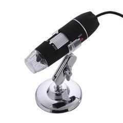 1000X 8 LED Electronic Microscope Digital Microscope Usb Professional Mount+ tweezers Magnification Measure Free Shipping