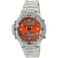 Citizen Men's Promaster JP1060-52Y Silver Stainless-Steel Plated Diving Watch