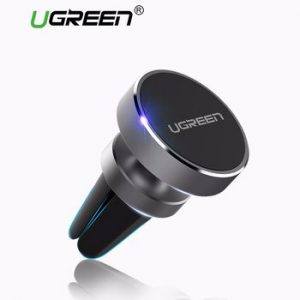 Ugreen Magnetic Phone Car Holder 360 Degree Mobile Phone Mount Air Vent Stand Holder for iPhone 7/6 Samsung S8 Smartphone Stand