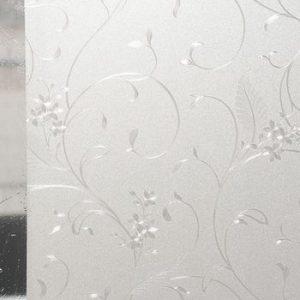 AMPOSEI Windows Opaque Sticker 45*200cm Privacy Matte Sunscreen Bathroom Living Room Windows Film Sticker -FE