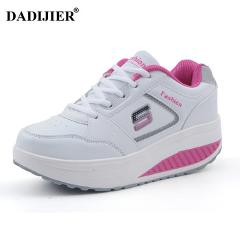 2017 Women casual shoes Slimming platform shoes women fashion women flats Fitness Lady Shoes Factory drop shipping ST207