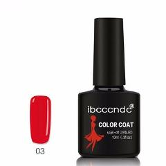 New Ibcccndc 80 Colors 10ML UV LED Soak-off Gel Nail Polish Nail Art Semi Permanent Gel Varnishes Nail Gel Polish Gel Lak