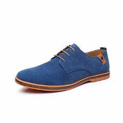 DADIJIER Plus Size Men Shoes Breathable Casual Shoes Low Top Men's Canvas Shoes Black Flats 4 seasons New arrival Winter shoes
