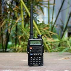 Retevis RT-5R Walkie Talkie 5W VHF UHF Dual Band Hf Transceiver VOX FM Amateur Portable cb Ham Radio Station Walkie-Talkie RT5R