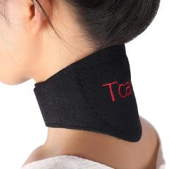 1 Pcs Health Care Magnetic Therapy Neck Support Protection Spontaneous Tourmaline Heating Headache Belt Neck Massager