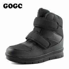GOGC Warm Men Winter Boots Snow Boots Brand Non-slip Winter Men Shoes High Quality Men Footwear Winter Ankle Booots Plus Size
