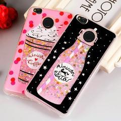 Quicksand Case for Xiaomi Redmi 4X Silicone Glitter Liquid Phone Case For Cover Xiaomi Redmi 4X 4 X Xiomi Xiami Coque Funda