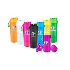 SmartShake NEON Protein Blender Shaker Mixer Bottle Cup 20 oz PICK COLOR