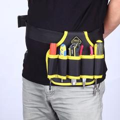 Wear waterproof 600 d Auto repair  plumber telecommunication toolkit pockets multi-function hardware tools wholesale purses