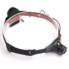 2000lm 4 Modes headlamp Waterproof LED bicycle Headlight Zoomable Focus Flashlight Head lamp Torch light Fishing Lantern AAA