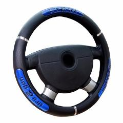 """WCaRFun Car Interior accessories Dragon Design Faux Leather Auto Car Steering Wheel Covers size fits 38cm/15"""""""