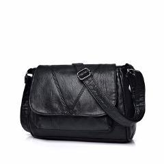 New Arrivel Soft Leather Black Women Handbags Fashion Shoulder Bag Female Lady Crossbody High Quality Design Messenger Bags