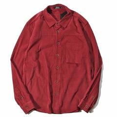 Corduroy Mens Shirt Long Sleeves Casual Shirt Cotton Luxury Brand Blouse Men's Clothings Fashion 2018 Spring Mens Corduroy Shirt