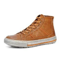 SERENE 2017 Men Shoes Nubuck Leather Lace-Up Warm Fur Boot Vintage Design Italian Techonology Boots Casual Botas Plus size 3215