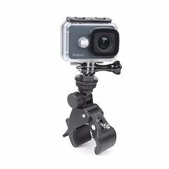 SHOOT Rotatable Bicycle Handlebar Cycling Clamp Mount for GoPro Hero 5 4 3 SJCAM SJ4000 SJ7000 Xiaomi Yi 4K H9 Cam Holder Clip