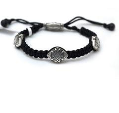 New DAVID YURMAN Men's Frontier Woven Tile Bracelet