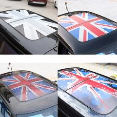 Semitransparent Auto Sunroof Roof Stickers Decals Decoration Car Styling For MINI Cooper JCW S  One+ F54 F55 F56 F60 Accessories
