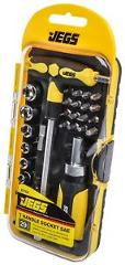 JEGS Performance Products 80764 Socket and Screwdriver Set 29-Piece SAE
