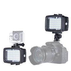 Andoer Ultra Bright 60pcs LED Video Light 1800LM 3 Modes Waterproof 5500K Fill-in Light Photo Lamp for GoPro Canon Nikon Sony