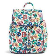 Vera Bradley Drawstring Backpack Purse