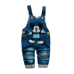 baby pants boys clothes infant overalls 1-3 years baby boys girls spring bib jeans pants baby jumpsuits cotton denim trousers