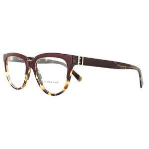 cebbed2dea3 Burberry Women Square Eyeglasses BE2268 3682 Tortoise Frame Demo Customize  Lens