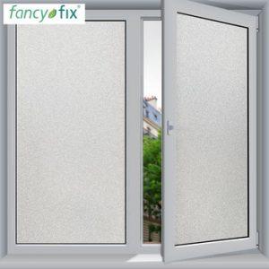 FANCY-FIX Frosted Glass Sticker Window Film