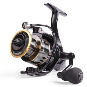 LINNHUE 2020 New Fishing Reel HE1000-7000 Max Drag 10kg Reel Fishing 5.2:1 High Speed Metal Spool Spinning Reel Saltwater Reel
