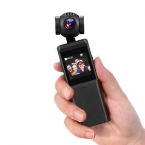 KEELEAD Pocket Handheld Camera 3 Axis Gimbal Stabilizer Camera HI3559V200 + IMX258 4K UHD 30fps Video Micro Wi-Fi cam P6A