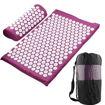 Massager Cushion Massage Yoga Mat Acupressure Relieve Stress Back Body Pain Spike Mat Acupuncture Massage Yoga Mat