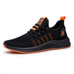 Designed 2020 Men casual shoes Breathable Mesh Sneakers Comfortable Walking Footwear Male Running Sport Shoes WIENJEE Summer New