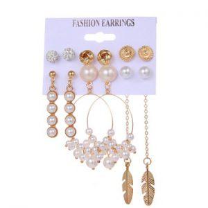 VKME Oversized Drop Earrings set Fashion Women earring multiple styles 2020 Jewellery Party Banquet Daily Decoration
