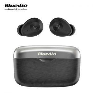 Bluedio Fi Bluetooth earphone TWS wireless earbuds APTX waterproof Sports Headset Wireless Earphone in ear with charging box