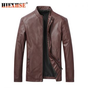 Men Jacket Leather 2020 News Motorcycle Men's Leather Lapel Versatile Personality Slimming Zipper Pocket Men's Wash Leather Coat