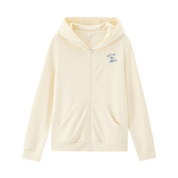 INMAN 2020 Autumn Winter New Arrival Solid Color Big Pocket English Embroidered Zipper Hooded Casual Sports Women Sweatshirt