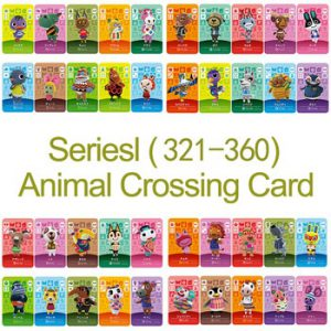 English version Amiibo Card NS Game Series 4 (321 to 360) Animal Crossing Card Work for