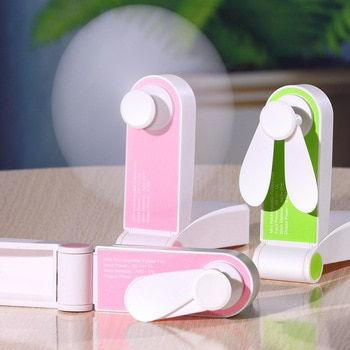 Usb Mini Fold Fans Electric Portable Hold Small Fans Originality Small Household Electrical Appliances Desktop Electric Fan